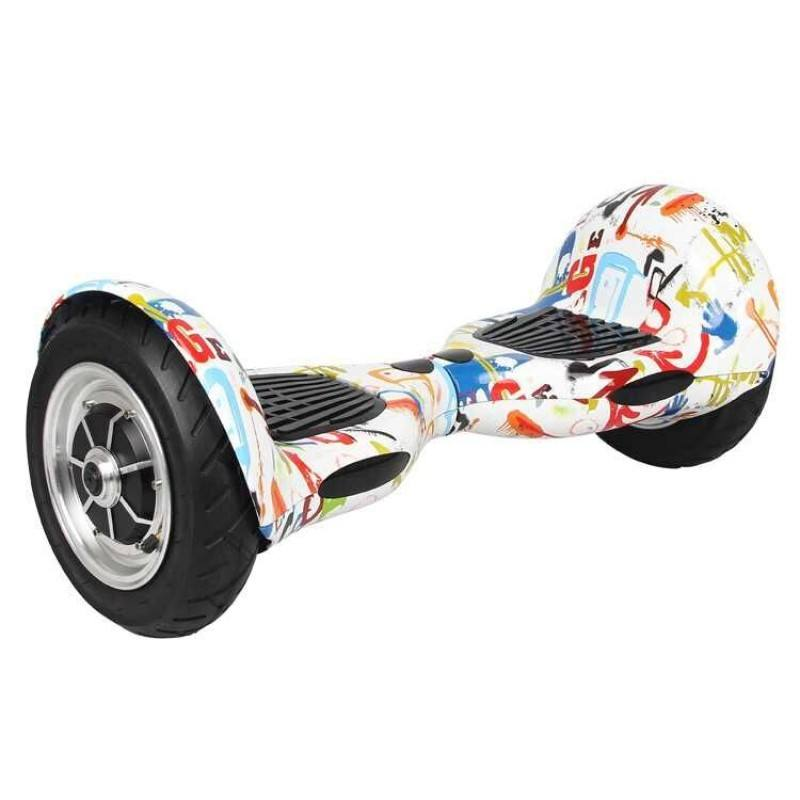Hoverboard Pro 10 Plus Graffiti 1, Stylish and Rugged Body