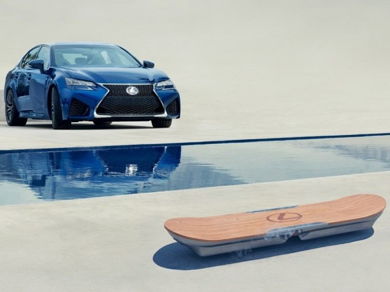 Lexus has built a hoverboard