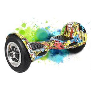 Hoverboard Pro 10 Plus Graffiti, Stylish and Rugged Body